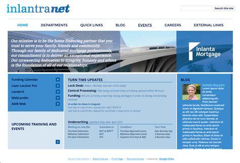 design of google site intranet designs google sites experts designs