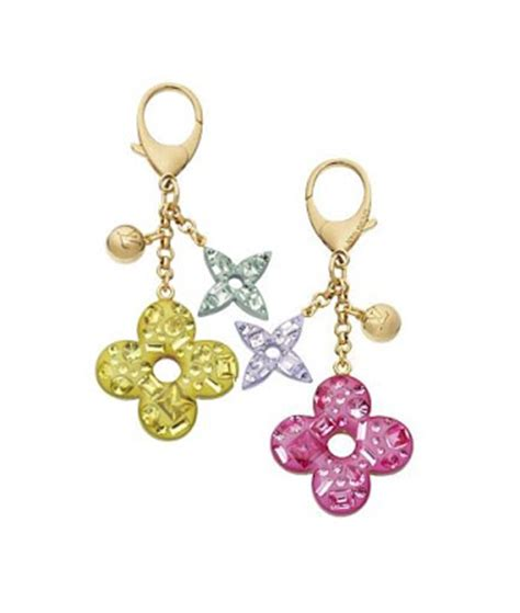 Bag Charm Flower louis vuitton glam flower bag charm in lvoe with louis