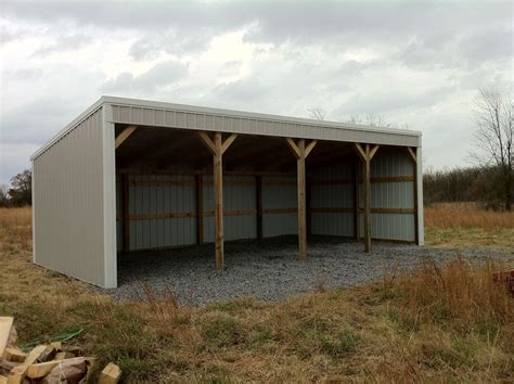 pin barn style garage on pinterest pole barn 12x40 loafing shed material list building plans
