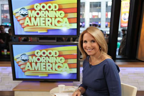 katie couric good morning america for a week couric will co host good morning america