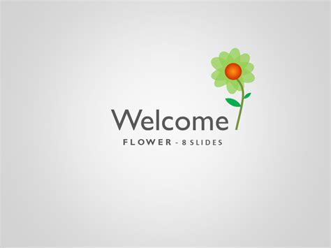 Flower Powerpoint Presentation Moreslides Com Welcome Slide For Ppt