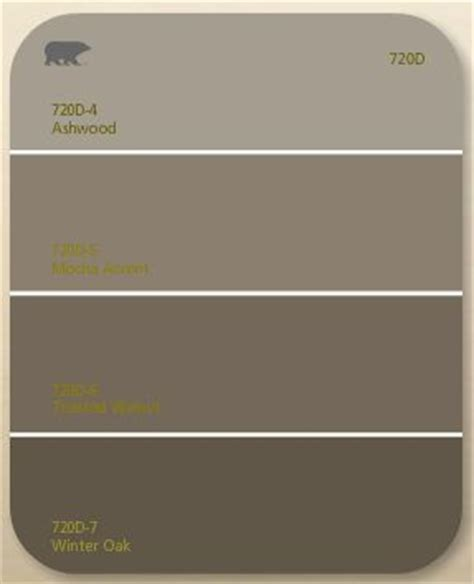 behr ashwood mocha accent 720d color palettes