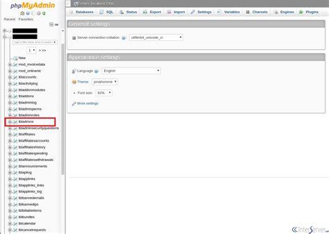 reset sbh online password how to reset phpmyadmin password phpsourcecode net