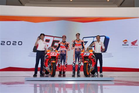 repsol honda team launch  challenge  indonesia motogp