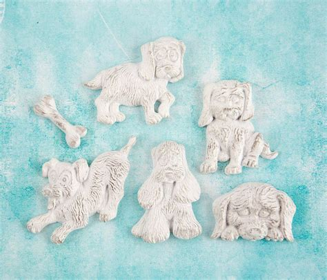 prima shabby chic treasures ingvild bolme puppies resin