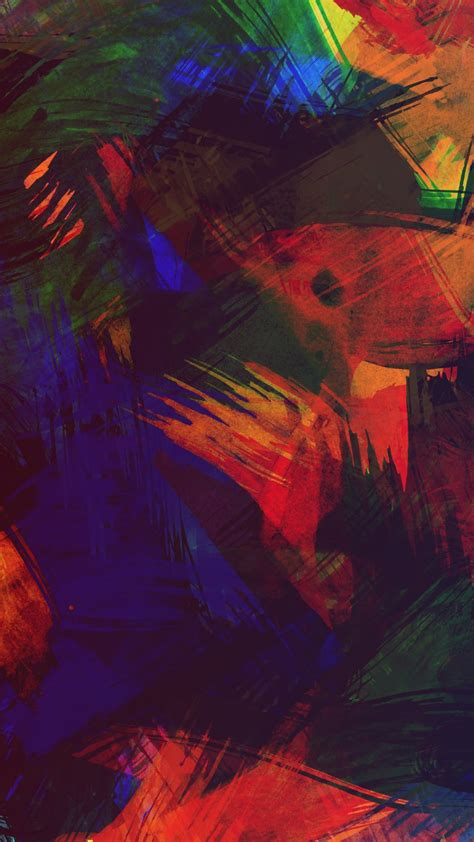 wallpaper colorful paint texture  abstract