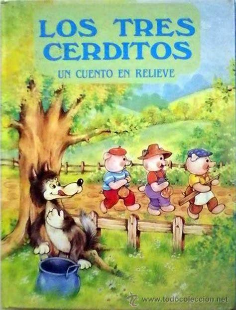 libro los tres cerditos los tres cerditos un cuento en relieve 1988 sus comprar libros de cuentos en todocoleccion