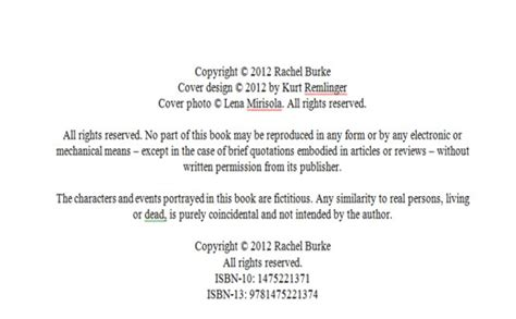 copyright template for book how to publish an ebook on s kindle store