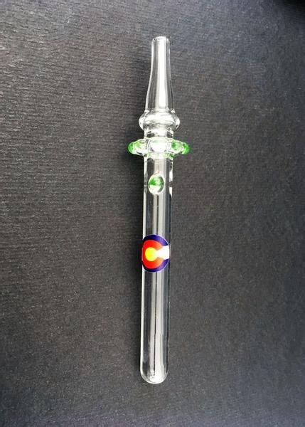 mini nectar collector dab straw myxedupcom glass