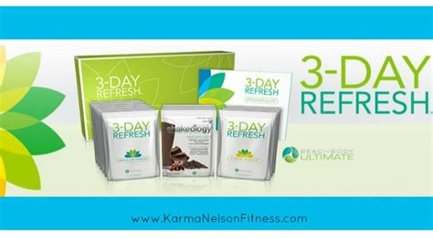 3 Day Detox Miracle by Shakeology Archives Karma Nelson Fitness