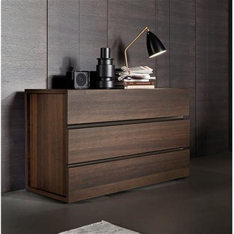 Modern Drawers by Dinotte Gola Modern Italian 3 Drawer Chest