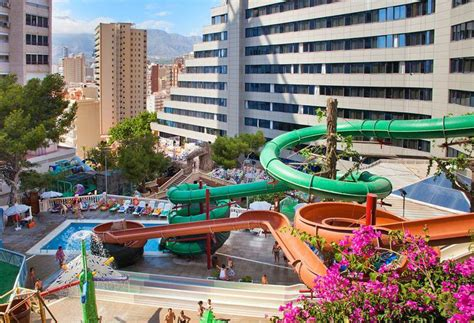 Magic Rock Garden Hotel Magic Aqua Rock Gardens En Benidorm Destinia