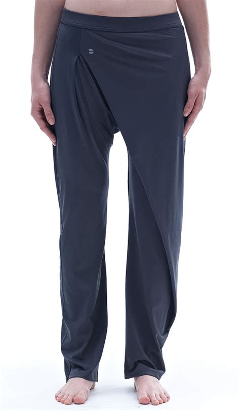 loose yoga pants pattern asymmetrycal loose dark gray yoga pants on luulla