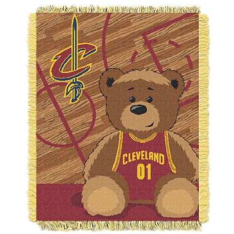 cleveland cavaliers bedding nba cleveland cavaliers baby blanket buy at team bedding com