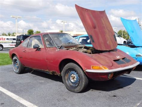 Opel Gt Parts For Sale 1972 Opel Gt With Parts Car Buy One Get One Free For