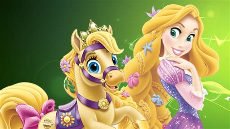 Disney Premium I Rapunzel ღ disney tangled princess rapunzel pony care baby