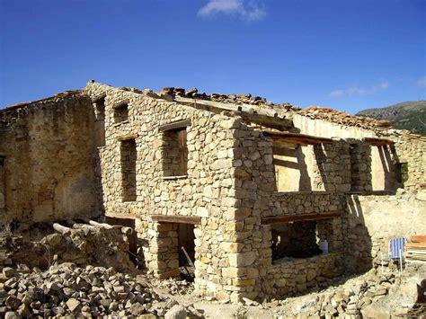 construccion casas de piedra construcci 243 n con piedra masico aguilar