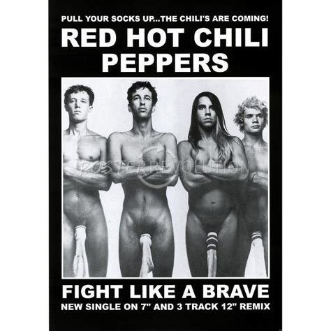 Delwyn Print Rhcp Chili Peppers Size S To L chili peppers wearing socks fight like a brave