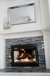 Fireplace Tiles Modern Tiled Fireplace Tiled Fireplaces