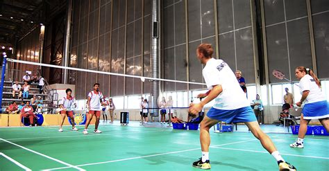 Sports Wallpaper Badminton Game | special olympics badminton