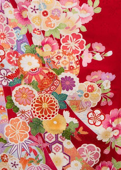 De Kimono Flower 36 best japanese kimono textile patterns images on japanese kimono textile patterns