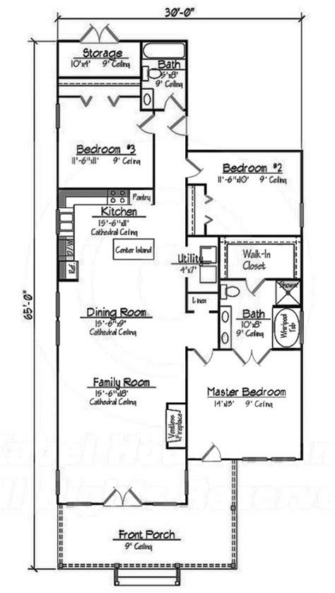 3 bedroom cottage house plans 653489 small 3 bedroom 2 bath southern cottage with