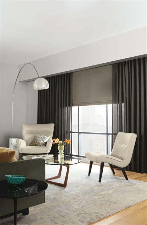 wohnzimmer gardinen modern moderne vorh 228 nge bringen das gewisse etwas in ihren wohnraum