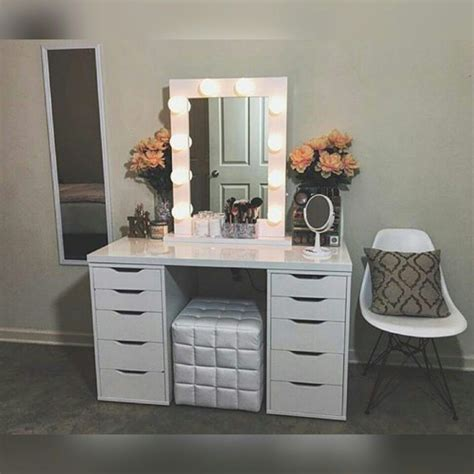 makeup vanity diy vanity mirror with lights for bathroom and makeup