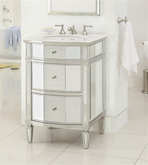 Mirrored Vanity Bathroom 12 Inch To 29 Inch Wide Vanities Single Sink Cabinet