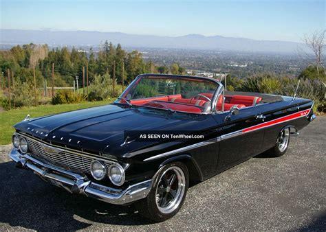 impala convertible 1961 chevy impala convertible project studio design