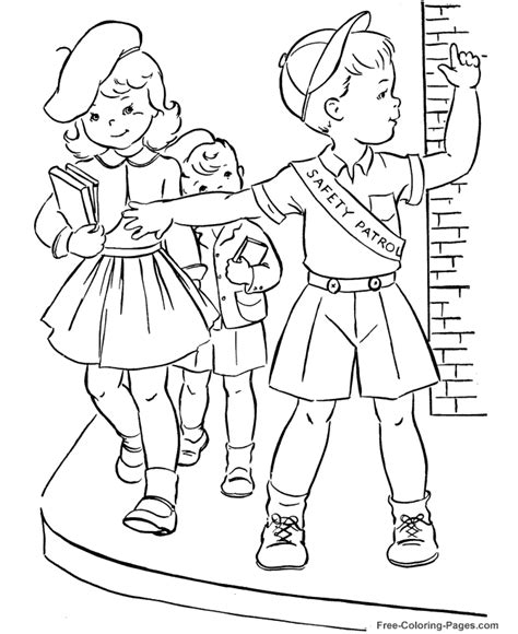 printable autumn coloring book pages 16