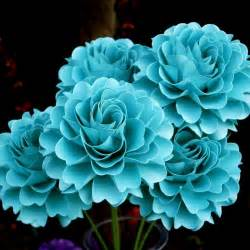 teal colored flowers for the of paper teal blue wedding a touch of