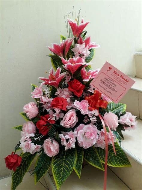 Bunga Plastik Shabbychid Bunga Artifisial Mawar Merah Putih Dedaunan lihat semua produk toko bunga di purwokerto rina florist