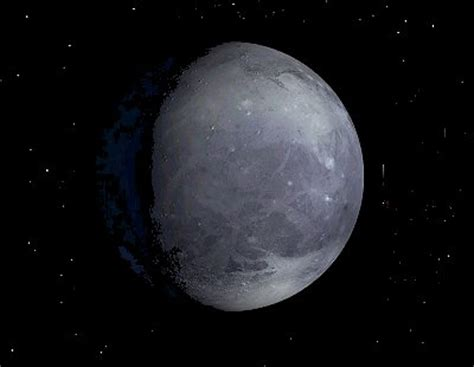 The size of pluto diameter wise is 2 390 km or about 70 equal to
