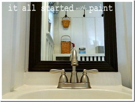 paint bathroom sink blue and white bathroom small space solutions