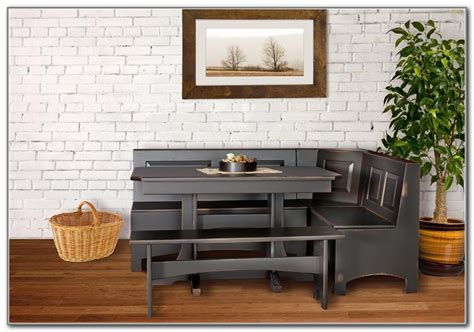 Kitchen Nook Sets With Storage by Corner Kitchen Table With Storage Bench Kitchen Set