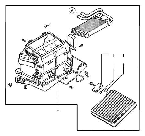 How To Remove Evaporator On A 2000 Mitsubishi Montero