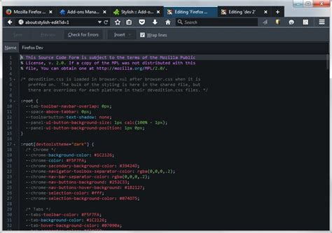 facebook themes stylish mozilla firefox how to re enable the dark developer theme in firefox 40