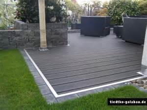 terrasse kunststoff pin sichtschutz in wpc nuss element mit