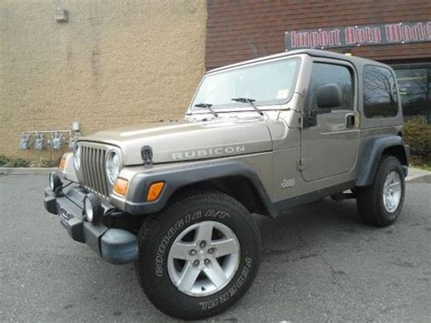 buy used 2004 jeep wrangler rubicon 4x4 manual ready to sell cheap low reserve l k in