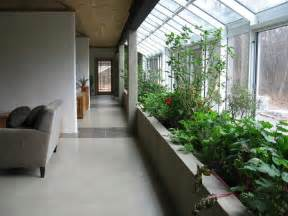 Interior Garden Plants Attached Greenhouse Design With Sustainable Indoor Planter