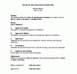 How To Type Minutes From A Meeting Template by Meeting Minutes Template Microsoft Word Templates