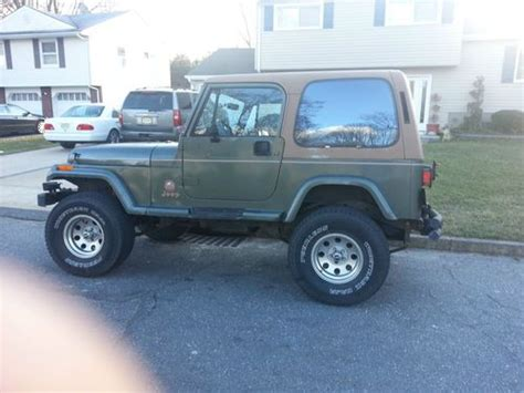 92 Jeep Wrangler Buy Used 92 Jeep Wrangler 5sd 6 Cyl Ac 2 Tops Only