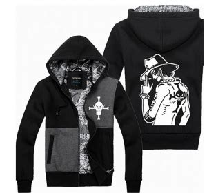 Jaket Sweater Shirohige Ace Luffy which one anime hoodie to choose