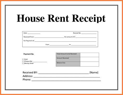 6 rental slips format salary slip