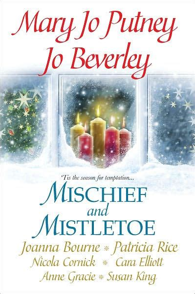 libro the mistletoe murder and mischief and mistletoe by jo beverley mary jo putney