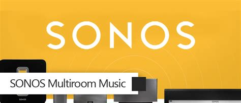 sonos multiroom smart home automation
