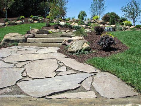 flagstone patios and walkways natural flagstone walkway paver inlay walkway paver walkway to