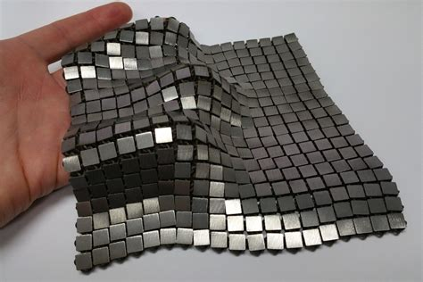 sandwich pattern engineering nasa has developed a futuristic 3d printed space fabric