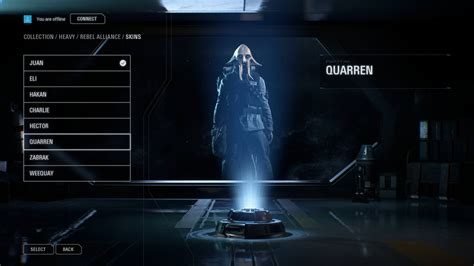 star wars battlefront ii battlefront 2 leak shows character customization